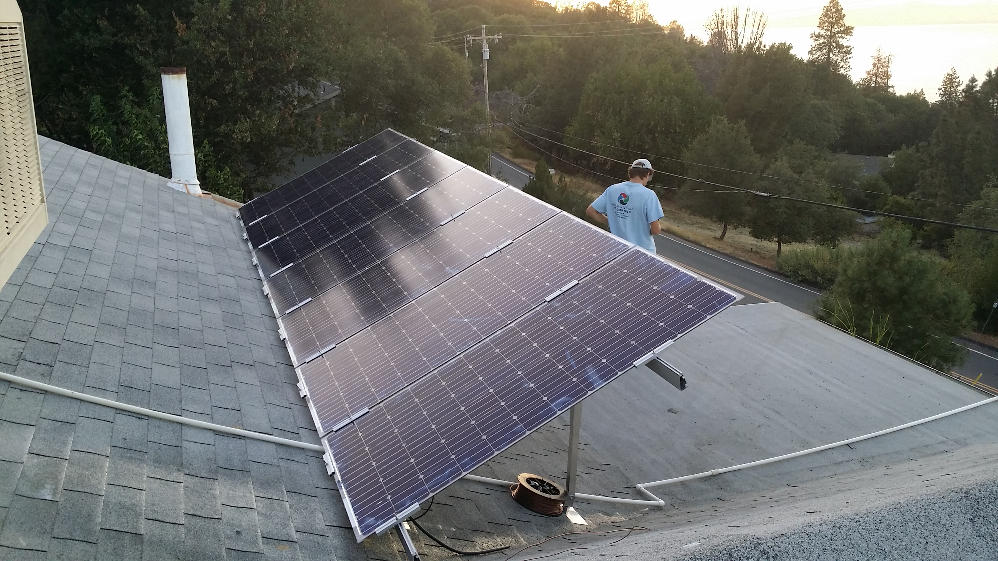 Solar Installation Harmony Air Wiring Panels To The Grid Are You Looking Reduce Your Energy Footprint Through Installing At Home Or Business Specializes In Affordable Tie